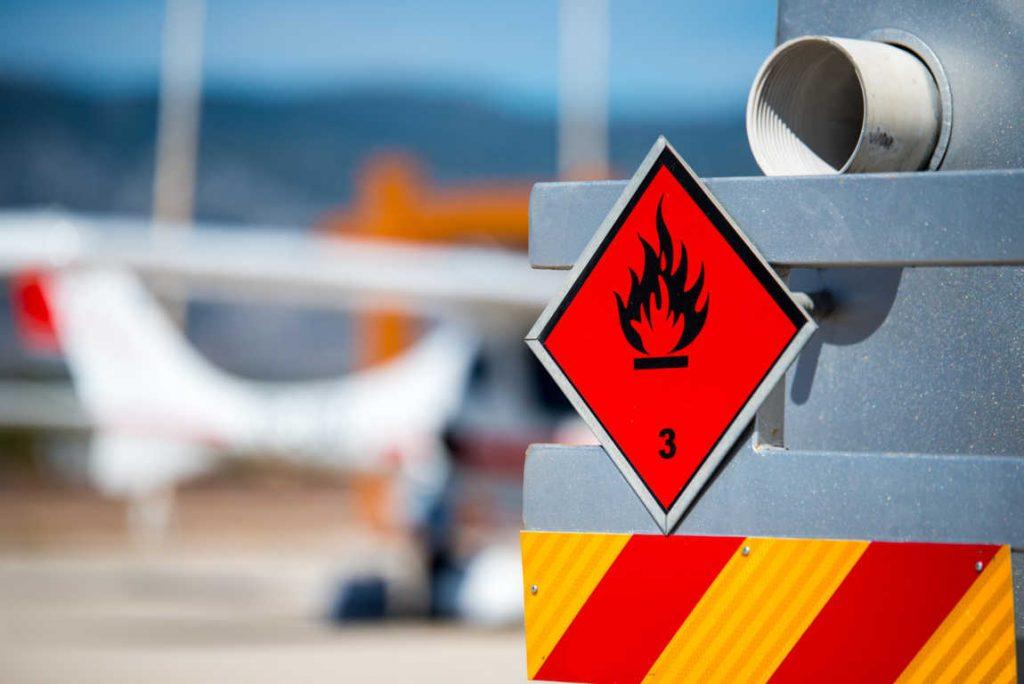 El transporte de mercancías peligrosas y perecederas